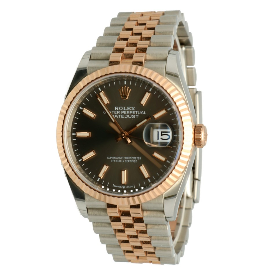 Rolex Datejust 36 Ref.126231 EveroseGold/Steel Jubilee