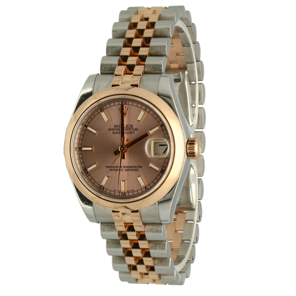 Rolex Datejust 31 Everose Goud/Staal Ref.178271
