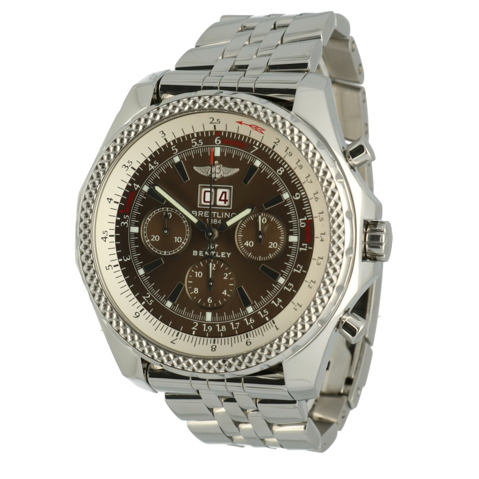 Breitling Bentley 6.75 Ref.A44362 Bronze wijzerplaat