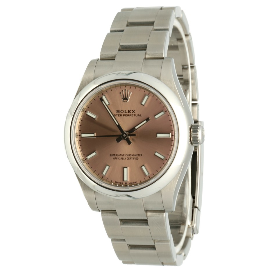 Rolex Oyster Perpetual 31 Pink Index Ref.277200