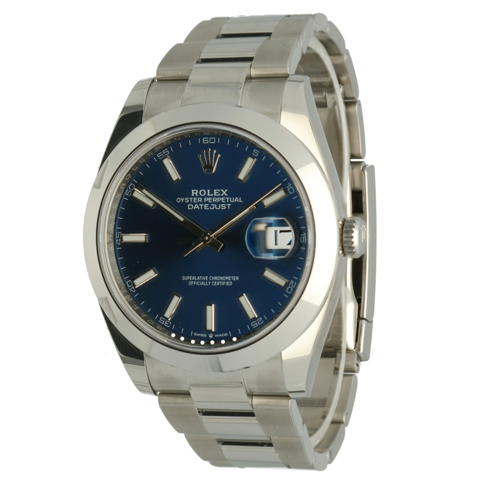 Rolex Datejust 41 Blue Index Ref.126300
