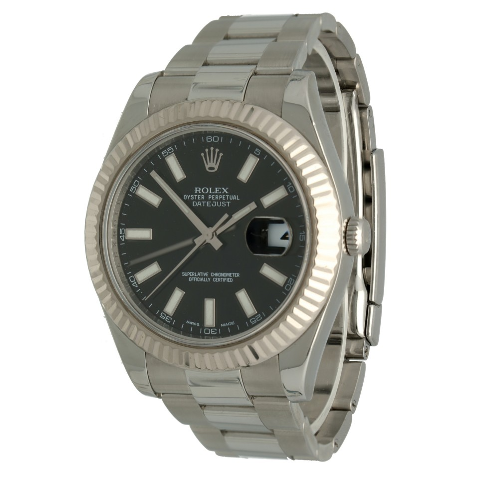 Rolex Datejust II Ref.116334 Black Index