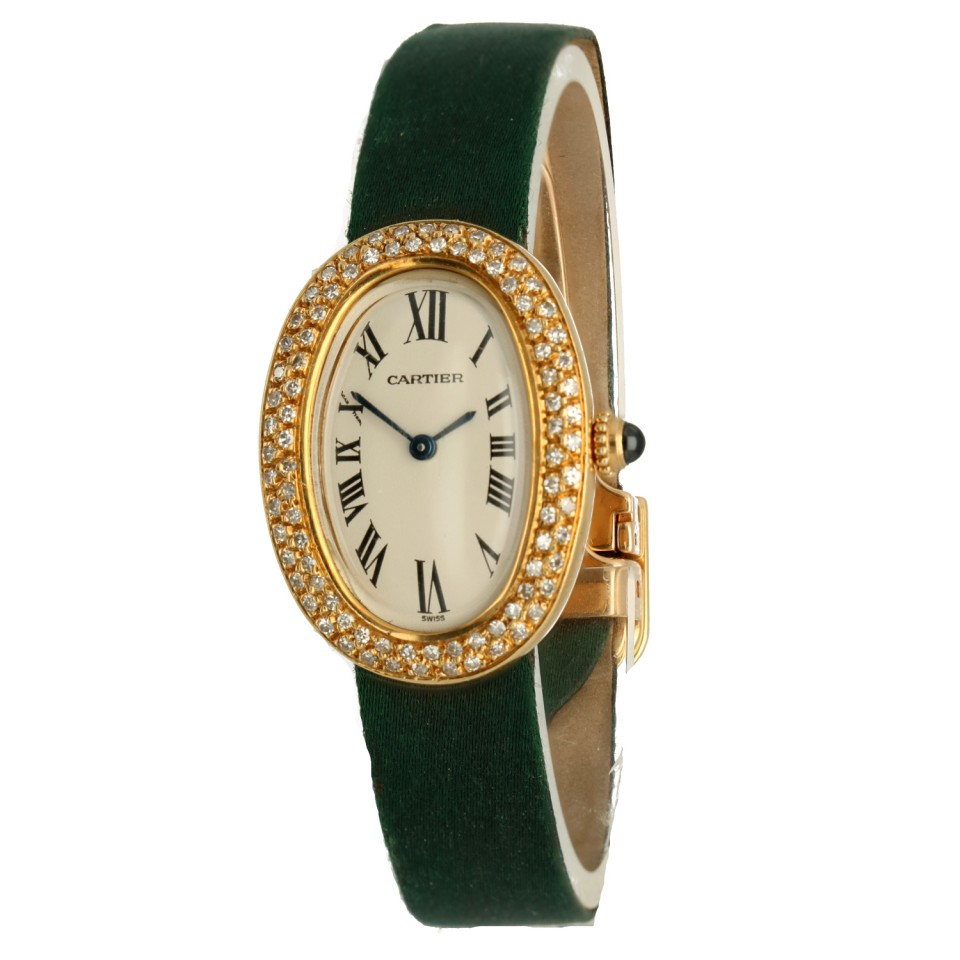 Cartier Baignoire Dresswatch Diamond set Ref. 8057910