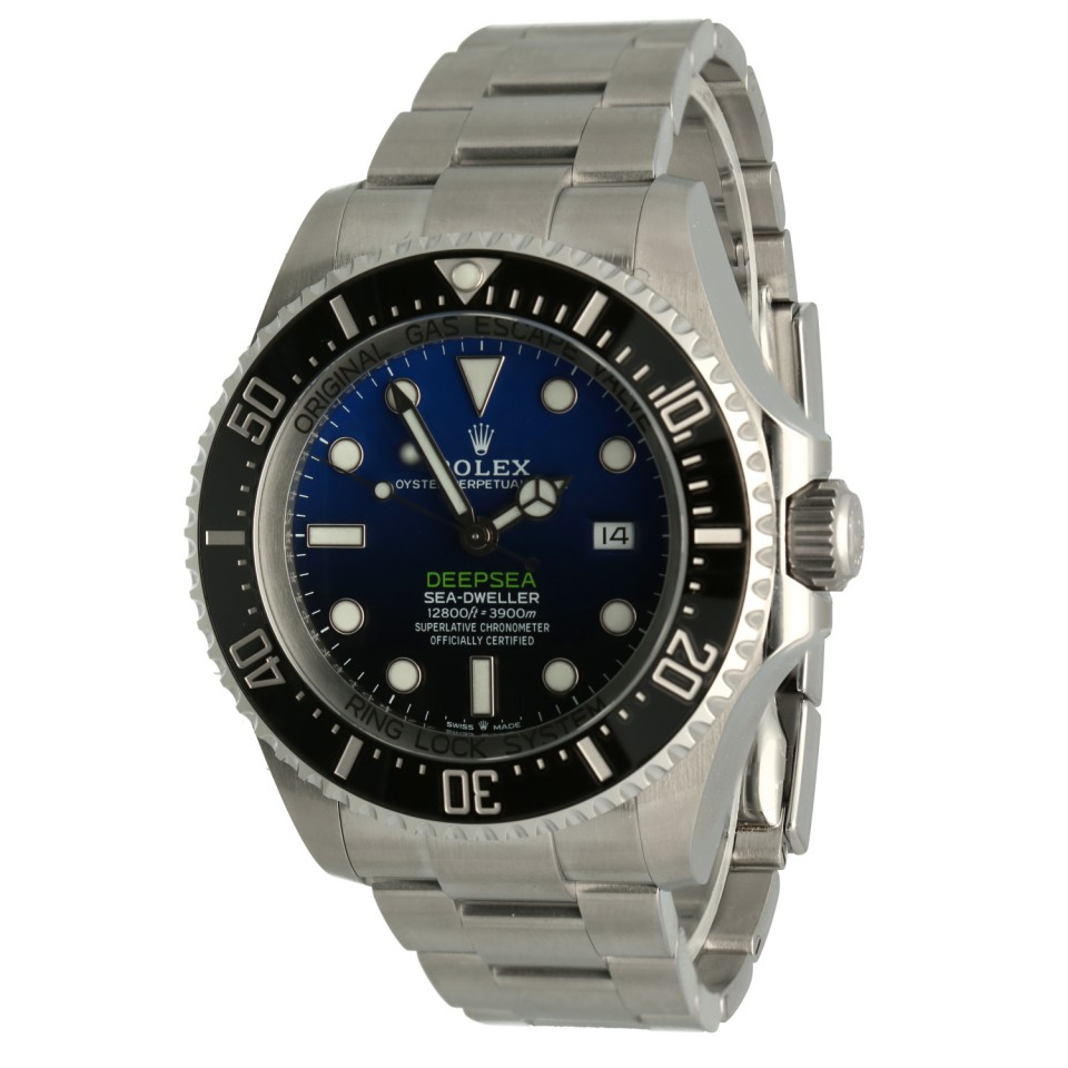 Rolex Sea-Dweller Deepsea Blue/James Cameron Ref.126660