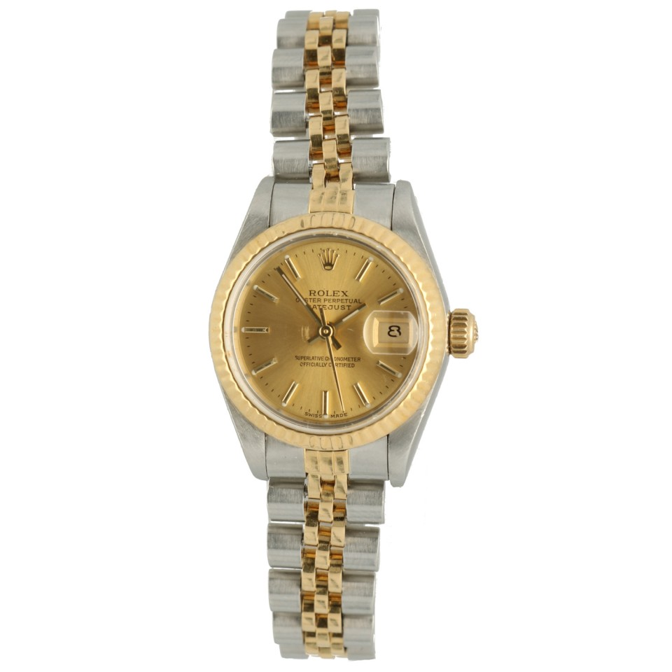 Rolex Datejust 26 Ref.69173 Goud/Staal