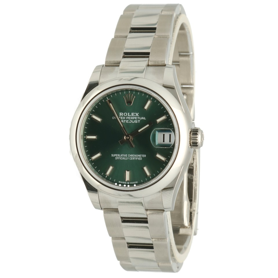 Rolex Datejust 31 Midsize Green Ref.278240