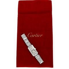 Cartier Tank Américaine 18Krt. witgoud