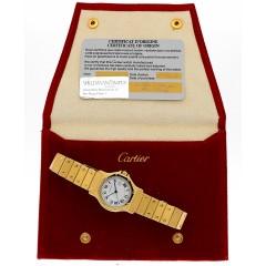 Cartier Santos Octagon 18Krt. Automaat