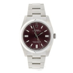 Rolex Oyster Perpetual Red Grape 116000