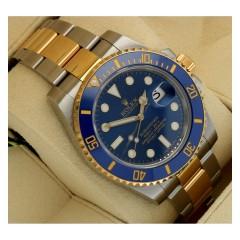 Rolex Submariner goud/staal Ref.116613LB ''Sunburst dial''