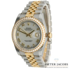 Rolex Datejust 36mm Diamant Bezel Ref. 116243