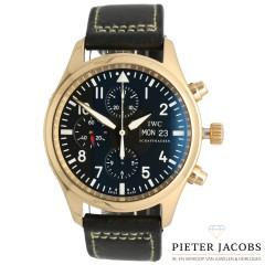 IWC Pilot Chronograaf 18Krt. geelgoud IW371713