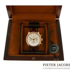 18 K.Breitling Transocean Chronograaf Full set, mint