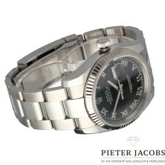 Rolex Datejust 36mm Black Roman Dial