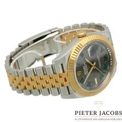 Rolex Datejust 41 Goud/Staal ''Wimbledon'' Ref.126333
