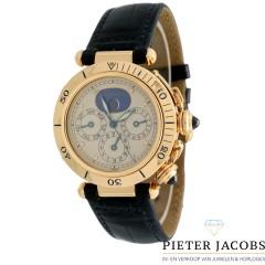 Cartier Pasha Seatimer Calendar Moonphase 18K. Goud