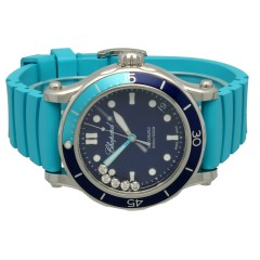 Chopard Happy Ocean Automatic Steel Diamonds Blue Dial 40mm