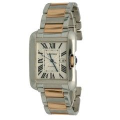 Cartier Tank Anglaise Ladies.Goud/Staal 2017