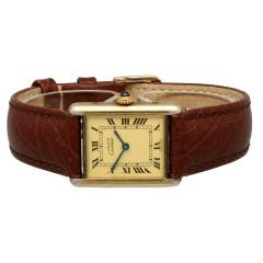 Cartier Tank Vermeil Quartz Ref. 590005