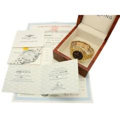 Breitling chronomat 18K. Goud Ref.K13050