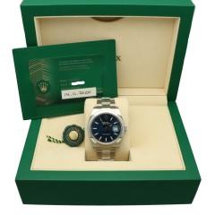 Rolex Datejust 41 Blue Index Ref.126300