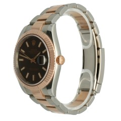 Rolex Datejust 41mm Rose Goud/Staal Ref.126311