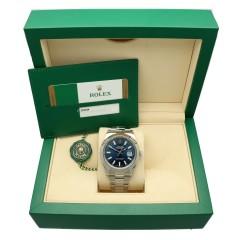 Rolex Datejust II Ref.116334 Blue/Oyster