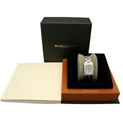 18 K. witgoud Baume & Mercier Hampton Diamant.