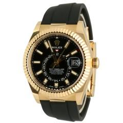 Rolex Sky-Dweller Oysterflex 99% new. Ref.326238