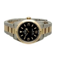 Rolex Explorer 36 Ref.124273 Goud/Staal